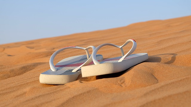 Beach, Sandal